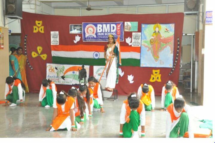Bhagwan Mahaveer Dayaniketan Jain School-Independence Day