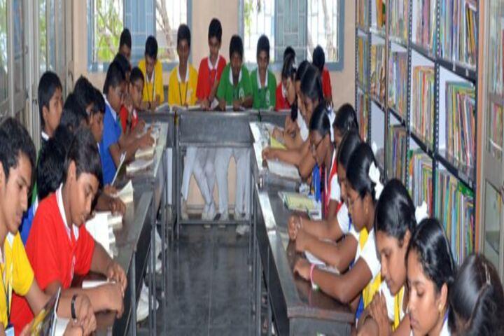 Bhagwan Mahaveer Dayaniketan Jain School-Library