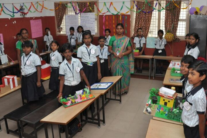 Bhagwan Mahaveer Dayaniketan Jain School-Science Exhibition