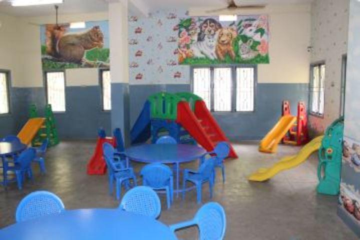 St Patricks High School-KG Classroom