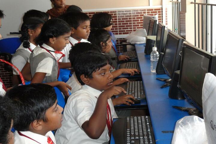 Brindavan Vidyalaya-Computer Lab