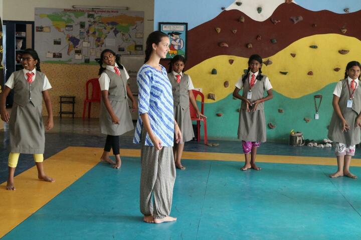 Brindavan Vidyalaya-Dance Class