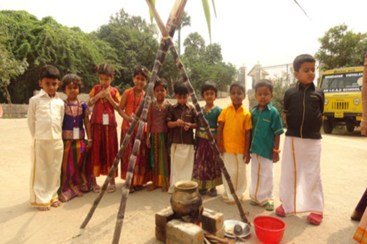 Brindavan Vidyalaya-Festival Celebration