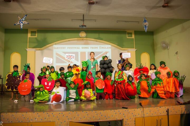 Brindavan Vidyalaya-Fruits Day Celebration