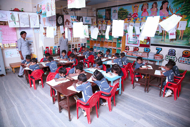 Excel Central School-KG Class Room