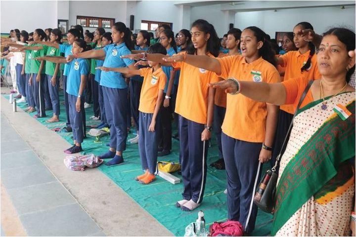 Chettinad Hari Shree Vidyalayam-Morning Assembly
