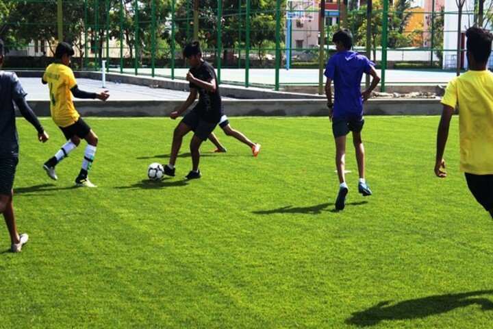 Vaels International School-Football Ground