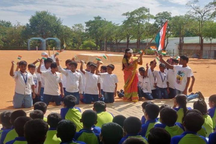 The Little Kingdom Senior School-Independence Day Celebration