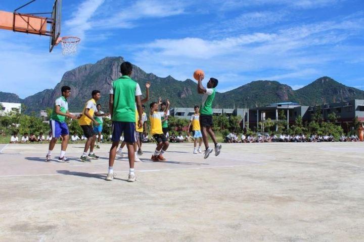 Comorin International School-Basketball Court
