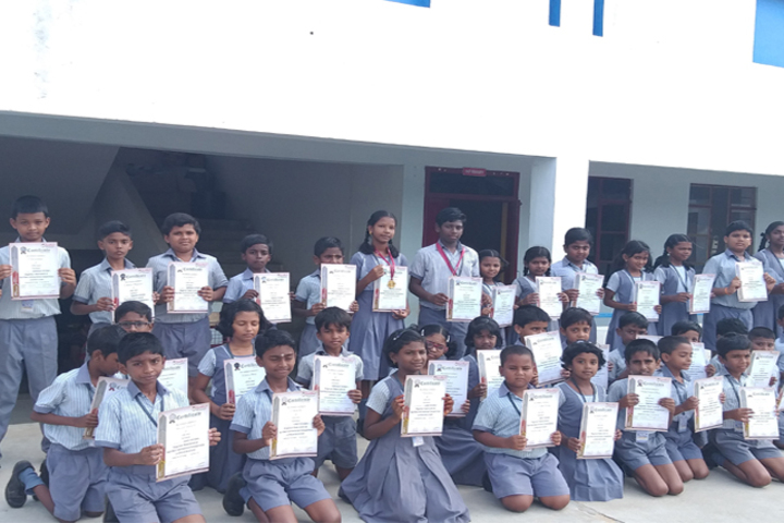 S D R School-Spell Bee Achievers