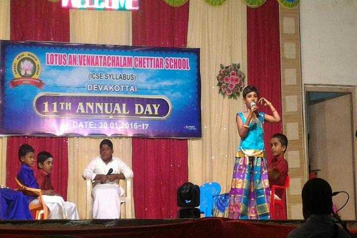 Lotus An Venkatachalam Chettiar School-Annual Day