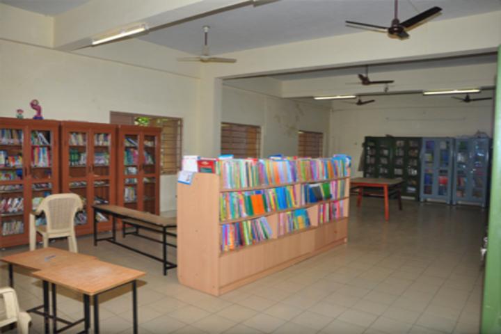 Lotus An Venkatachalam Chettiar School-Library