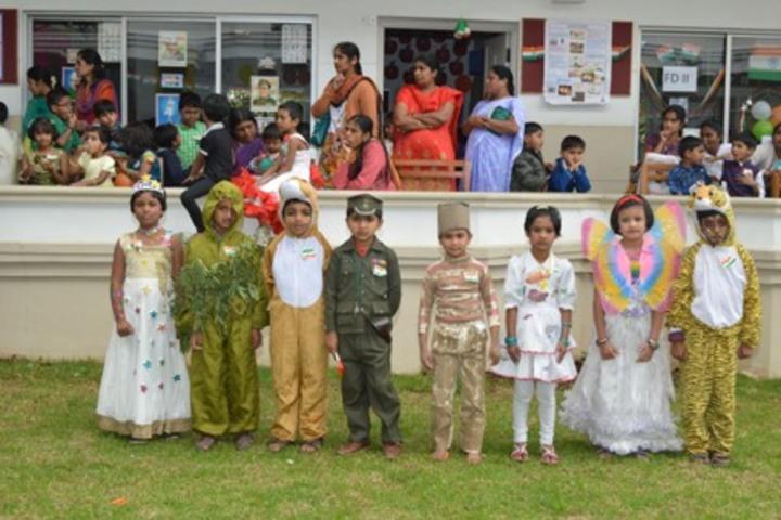 Crescent Castle Public School-Republic Day