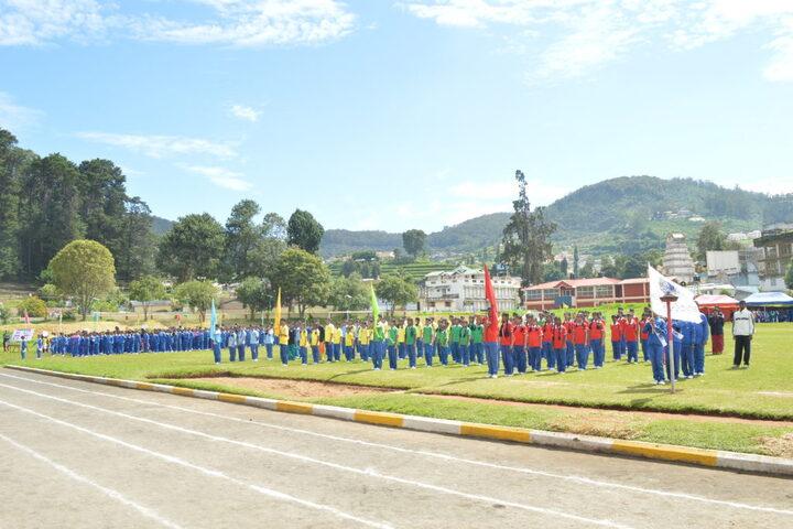 Crescent Castle Public School-Sports Day