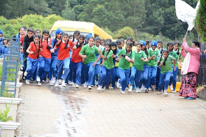 Crescent Castle Public School-Inter House Marathon