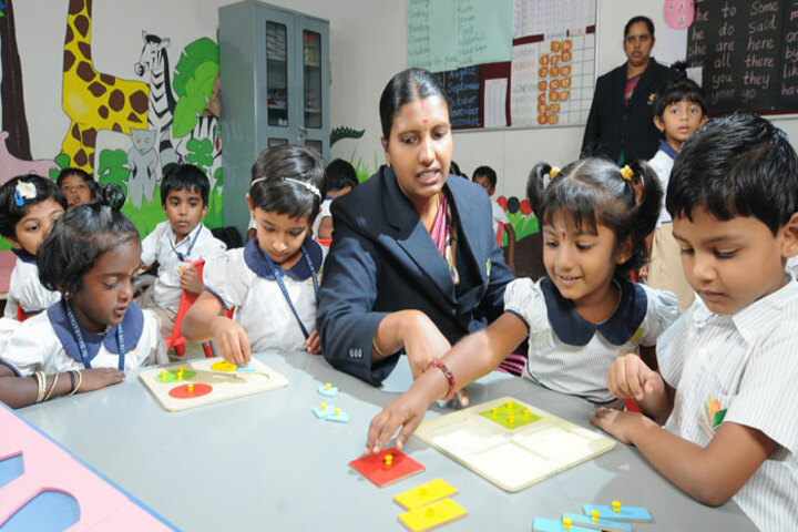Dr Dasarathan International School-Activity Room