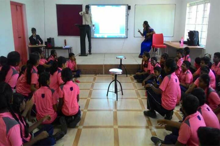 Dr Dasarathan International School-Audio Visual Lab