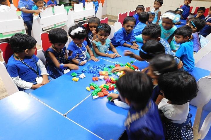 Sacred Heart International School-Blue Day Celebration