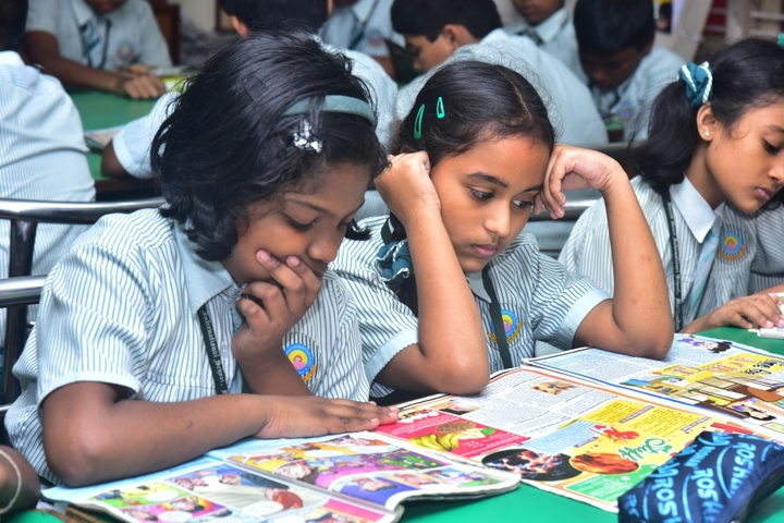 Sacred Heart International School-Library