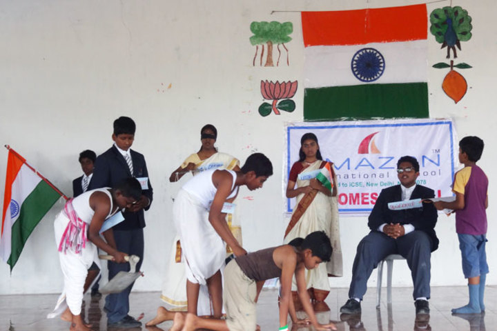 Amazon International School-Independence Day Celebration