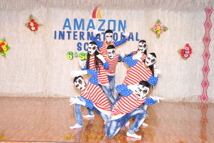 Amazon International School-Mime