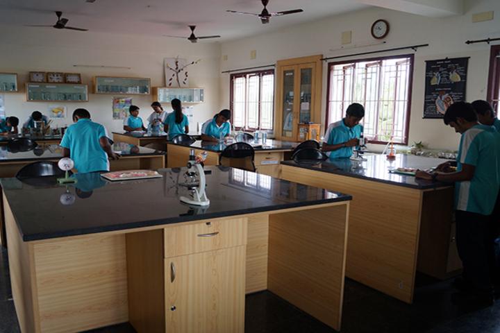 Kaumaram Sushila International Residential School-Biology Lab