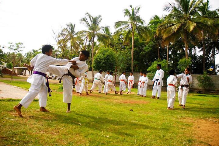 Kaumaram Sushila International Residential School-Karate