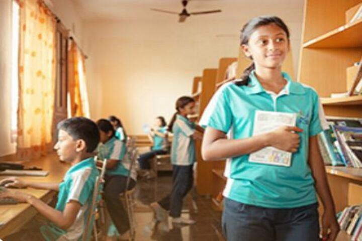 Kaumaram Sushila International Residential School-Library
