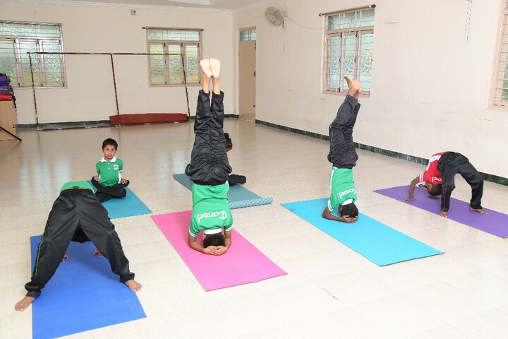 Carmel International School-Yoga