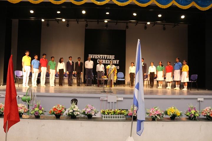 Dr C L Metha Sishya O M R School-Investiture Ceremony