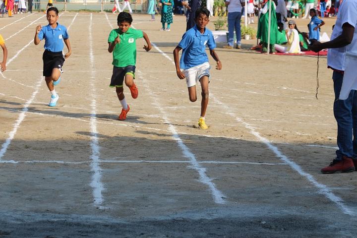 Dr C L Metha Sishya O M R School-Sports Running