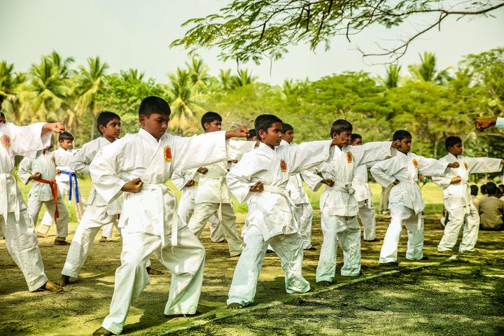 Shiksha Greenwoods School-Karate