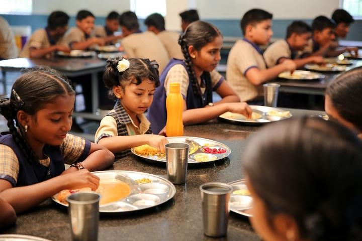 Shiksha Greenwoods School-Dinning Hall