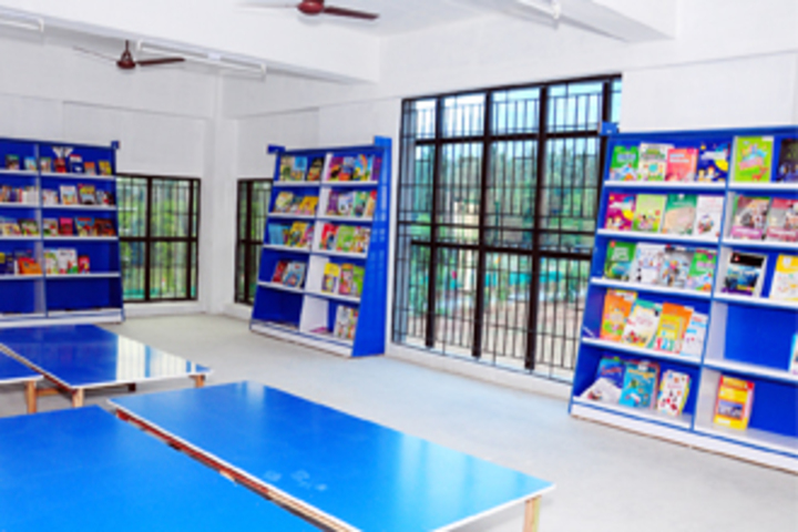 Aachi International School-Library