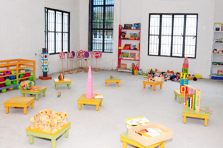 Aachi International School-Montessori Hall