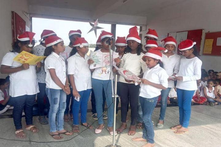 M G V Global Academy-Christmas Celebrations