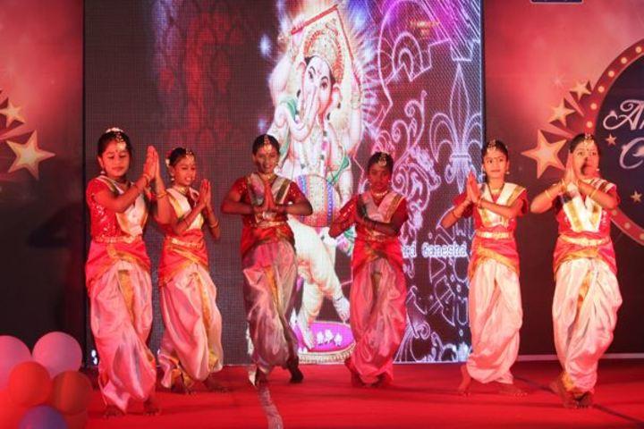 M G V Global Academy-Cultural Dance