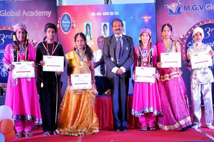 M G V Global Academy-Dance Champions