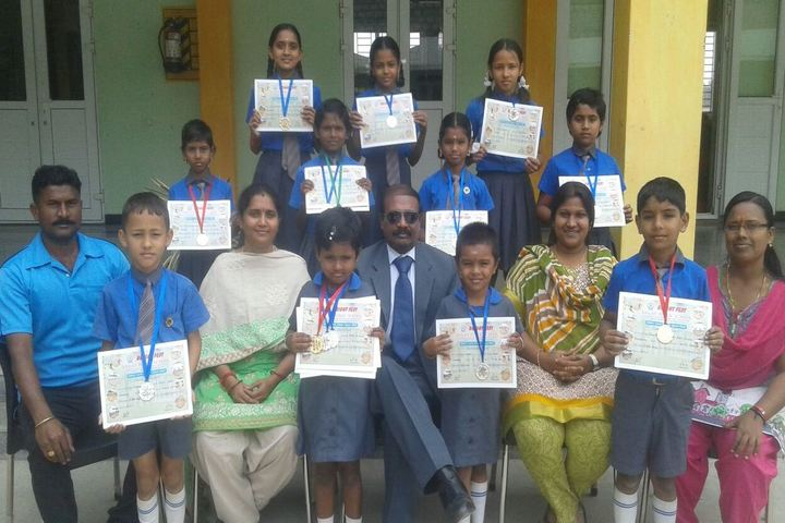 M G V Global Academy-Felicitation