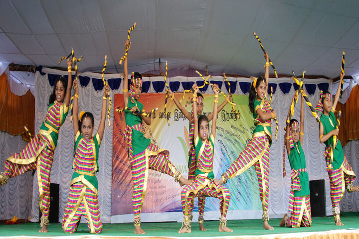 Ishethra International Residential School-Dance