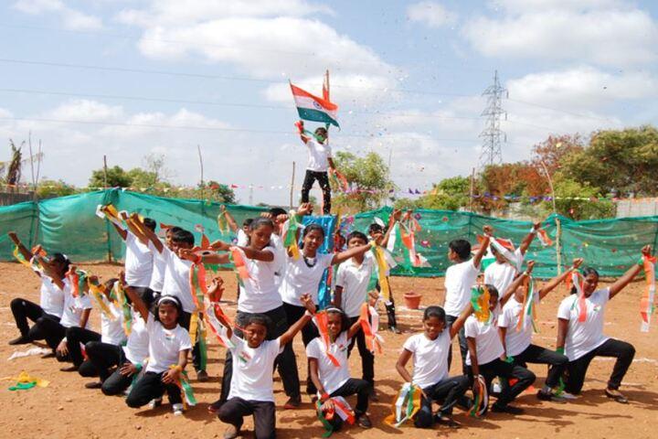 Bharathi Vidhyaa Kendhra School-Independence Day Celebration