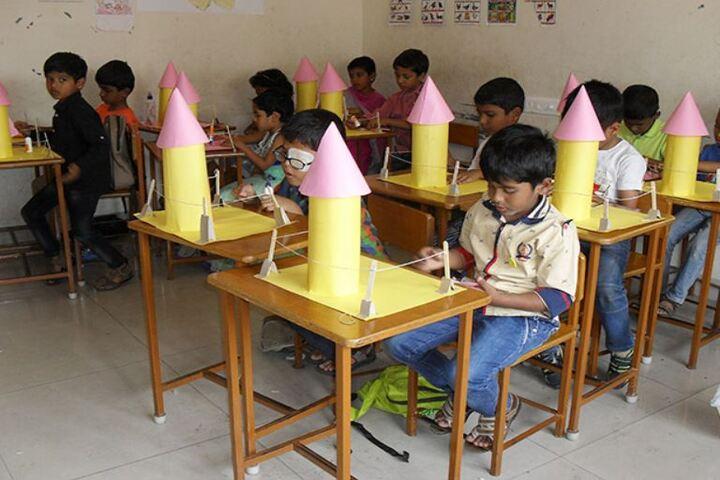 Bharathi Vidhyaa Kendhra School-Maths Activity