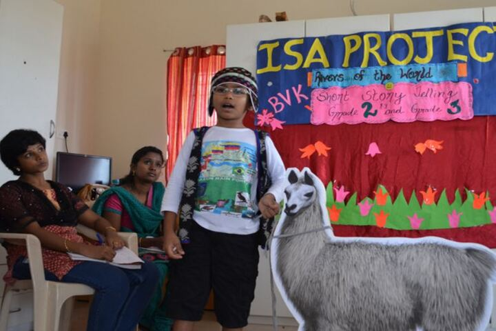 Bharathi Vidhyaa Kendhra School-Story telling Competition