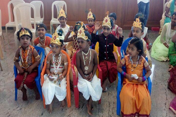 Pincushion Montessori International School-Janmastami Celebrations