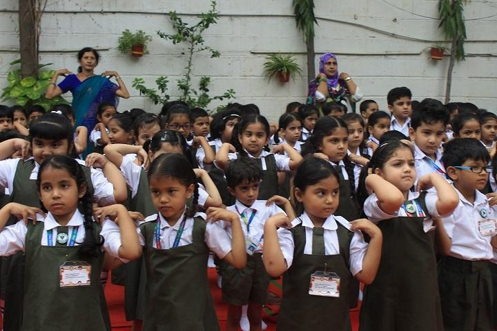 Nasr School-Yoga Day