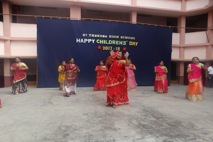 St Theresa High School-Childrens day Celebration