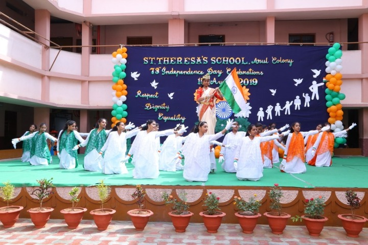St Theresa High School-Independence day Celebration