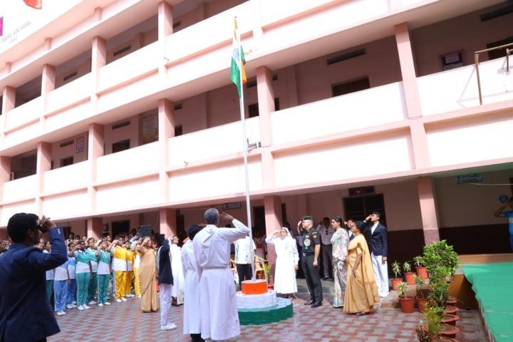 St Theresa High School-Republic day