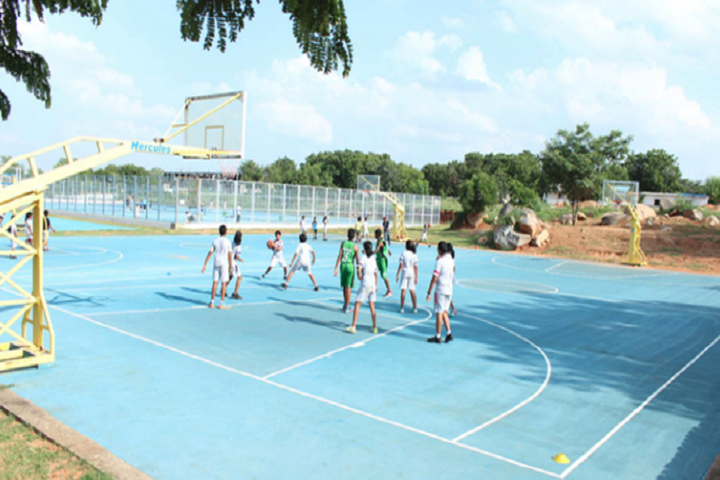 Sreenidhi International School-Basket Ball Court