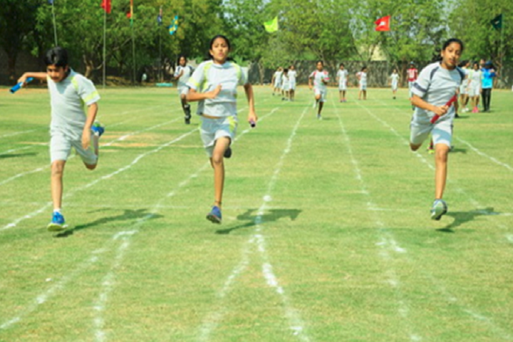 Sreenidhi International School-Running Competition